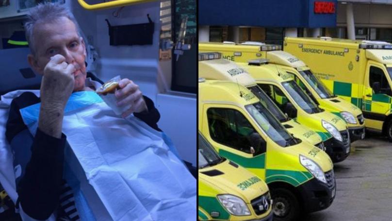 Paramedics Take Elderly Man For Ice Cream On Final Trip To Hospital
