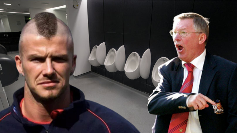 David Beckham Explains How Sir Alex Ferguson Made Him Shave Off Mohawk In Dressing Room Toilets