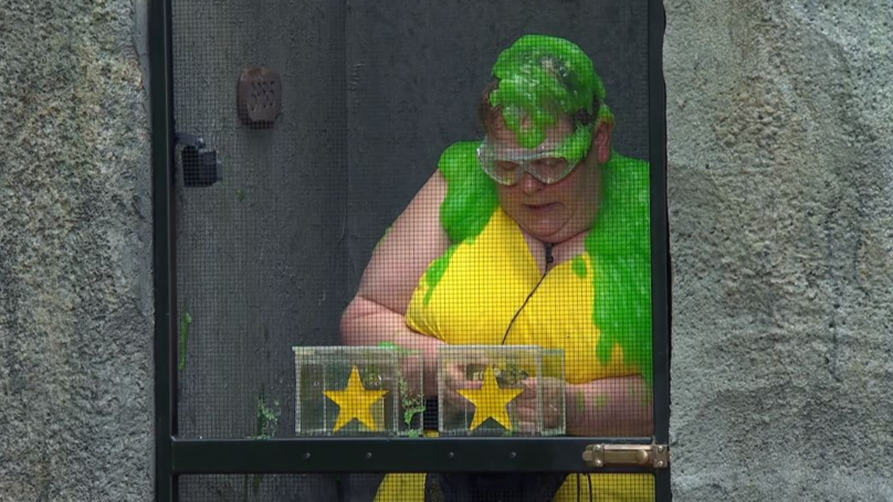 I'm A Celeb's Anne Hegerty Gets Covered In Slime In Tonight's Bushtucker Trial
