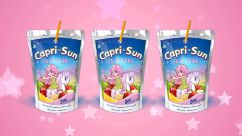 Capri-Sun's New Fairy Drinks Will Take You On A Magical Adventure