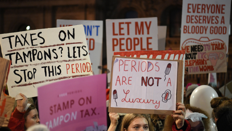 ​To All The People Telling Women They Don't Need Free Sanitary Items, Here's Why You're Wrong
