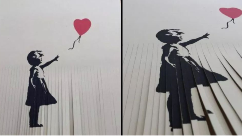Owner Of £40,000 Banksy Decides To Shred Their Print After Self-Destructing Stunt, Backfires Massively