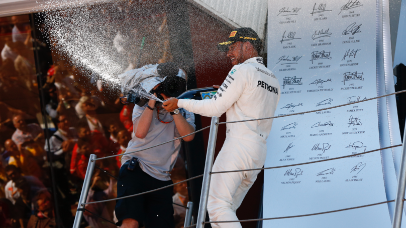 Lewis Hamilton Uses The Force To Score Brilliant Spanish GP Victory