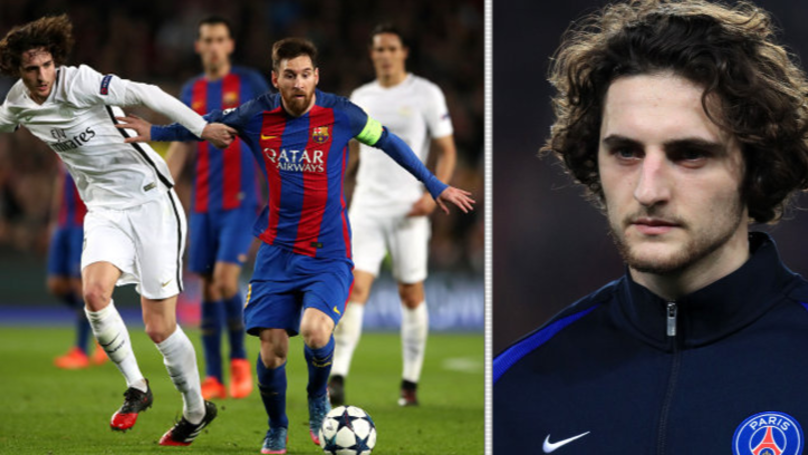 Why Paris Saint Germain's Adrien Rabiot Regrets Playing Against Barcelona | SPORTbible