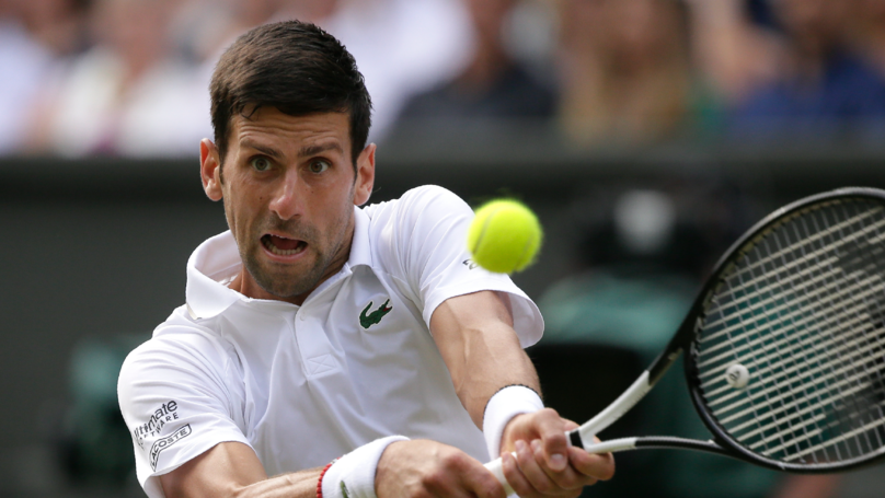 Novak Djokovic Wins Men's Wimbledon Final