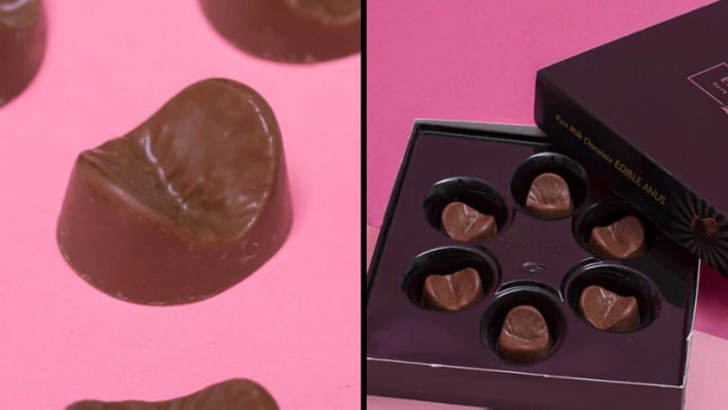 你现在可以买可食用的巧克力烧嘴了
