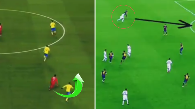Video Proves Just How Good Cristiano Ronaldo's Movement Is