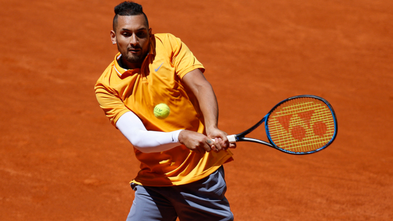 Nick Kyrgios Kicked Out Of Italian Open After Massive Meltdown