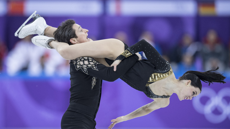 Canadian Olympic Figure Skating Duo Tone Down 'Risqué' Routine