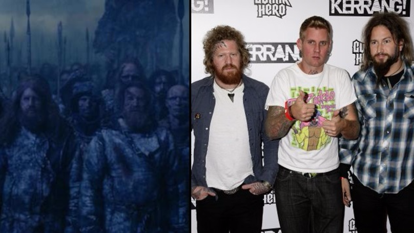 Mastodon Made A Cameo Appearance In The Final Episode Of 'Game Of Thrones' Season Seven