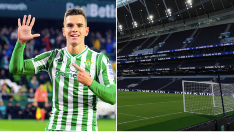 Tottenham Hotspur Table Club-Record £53 Million Bid For Giovani Lo Celso