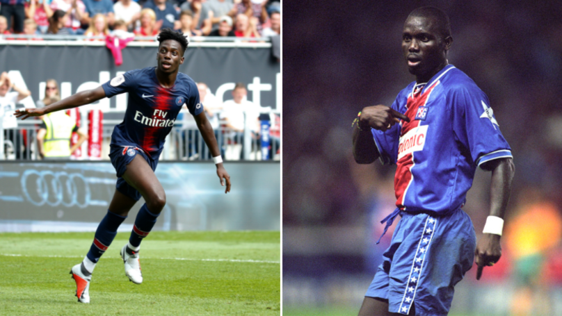 Timothy Weah Scored His First PSG Goal 26 Years After His Dad