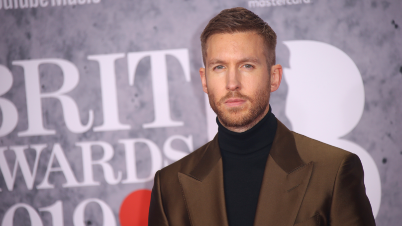 Viewers Were Shocked By Calvin Harris' Voice At The BRIT Awards