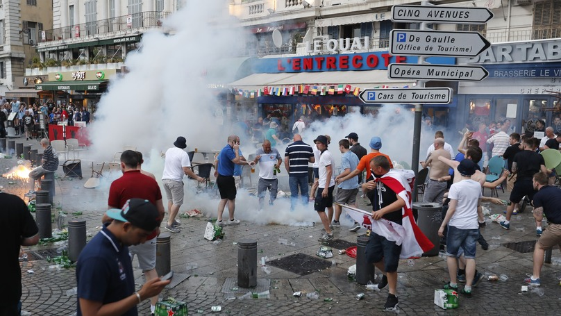 BREAKING: England Fan Fighting For His Life After Russia Supporter Attack