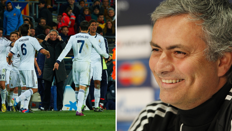 What Mourinho Said To Real Madrid Players After 5-0 Loss Proves His True Class