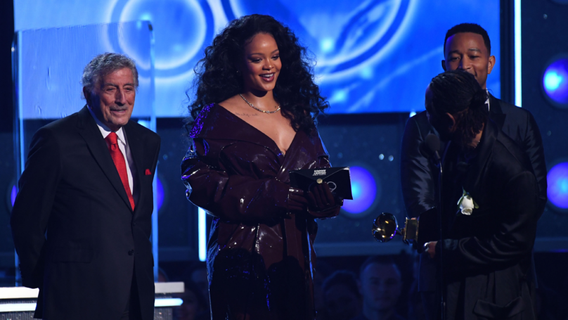 Rihanna 'Fat Shamed' By Trolls After Grammys Performance