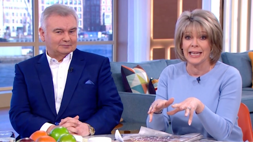 'This Morning' Fans Furious As Ruth Langsford and Eamon Holmes Stand In For Holly And Phil