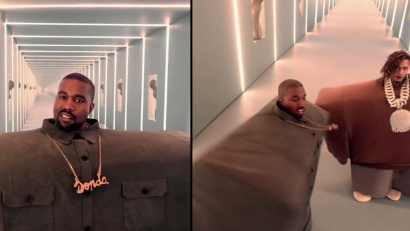 Kanye West Wears Oversized Everything In New Music Video