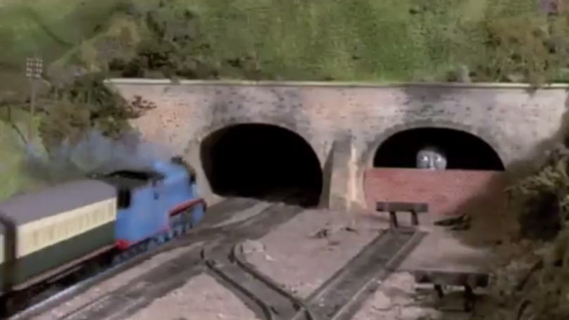 Chilling 'Thomas The Tank Engine' Scene Is Freaking Everybody Out