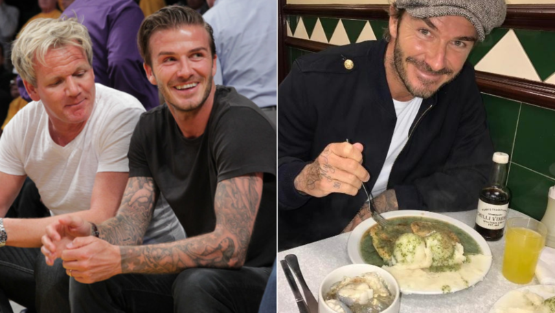 David Beckham 'In Talks' To Host His Own Cooking TV Show