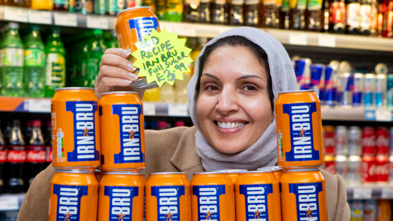 Shopkeeper Sells Original Full Sugar Irn-Bru For £3.99 A Can