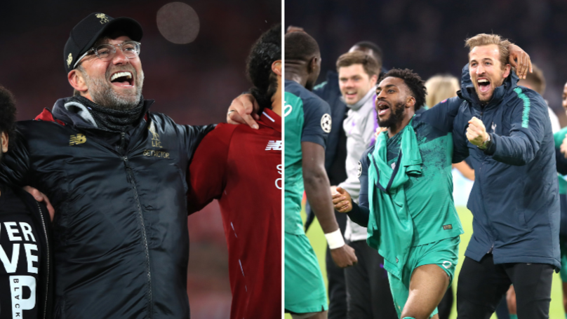 Liverpool And Spurs Earnings For Reaching The Champions League Final