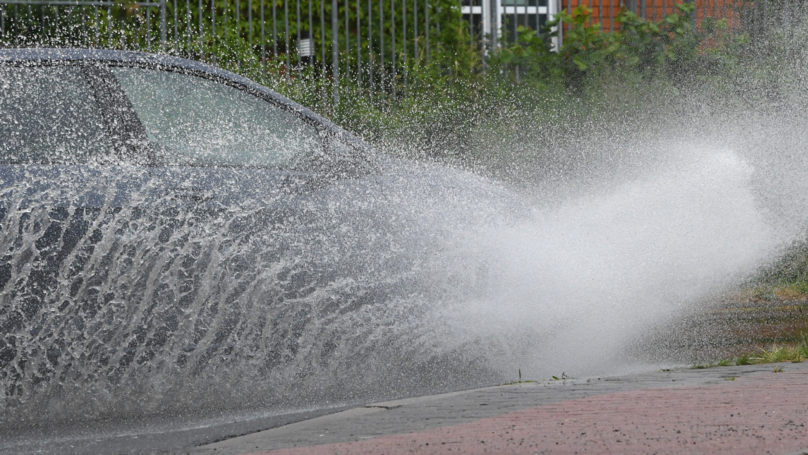 Driver Caught Out Purposefully Splashing Pedestrians On Rampage