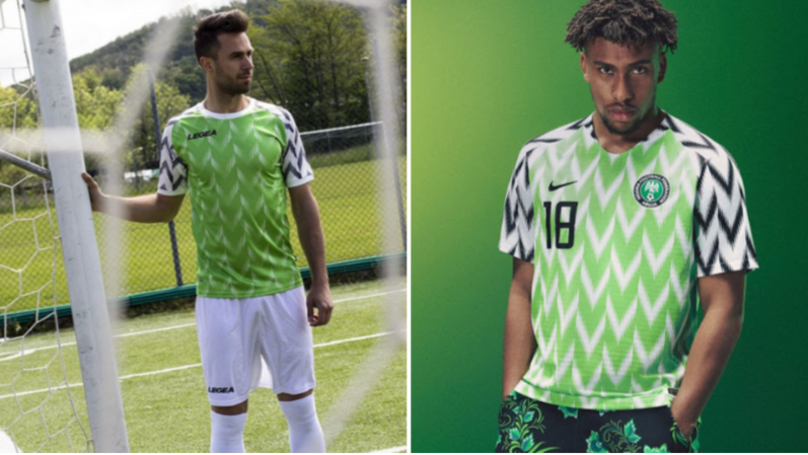 Legea Have Completely Ripped Off Nigeria's 2018 World Cup Shirt