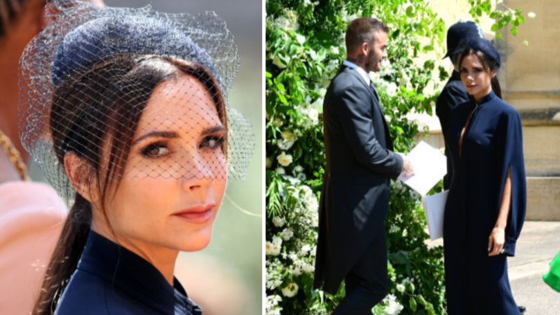 Fans Brand Victoria Beckham 'Miserable' At The Duke And Duchess Of Sussex's Wedding
