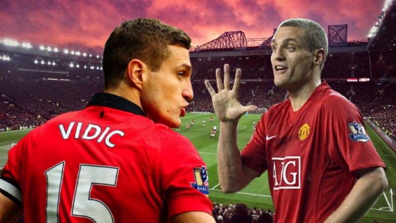 Manchester United Legend Nemanja Vidić Named Best Premier League Defender Of All Time