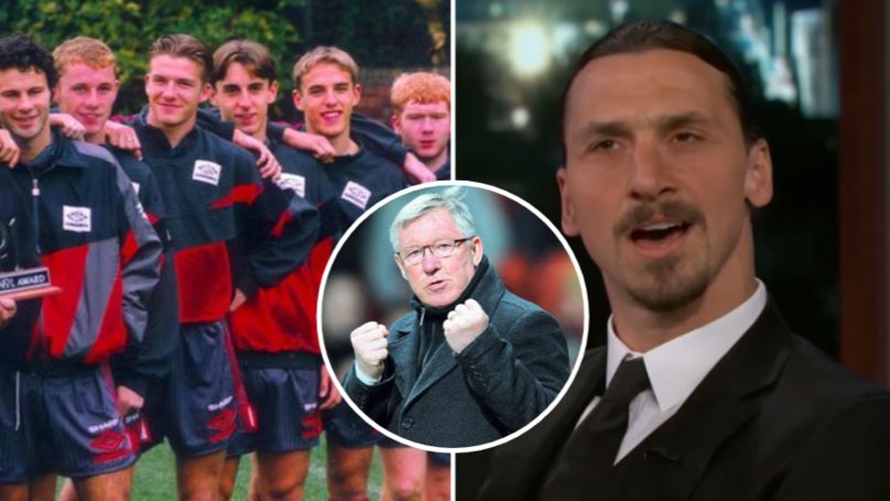 Zlatan Ibrahimovic Aims Dig At Manchester United's 'Class Of 92'