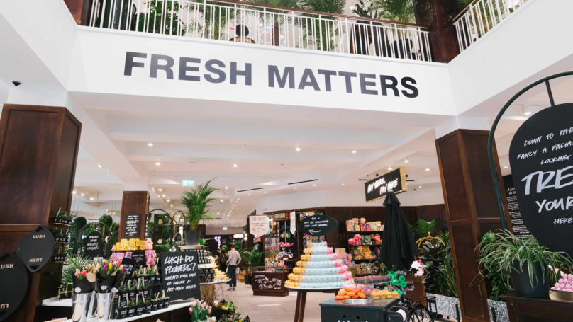 Lush Opens Its Biggest Store Ever With A Spa, Florist And Perfume Library
