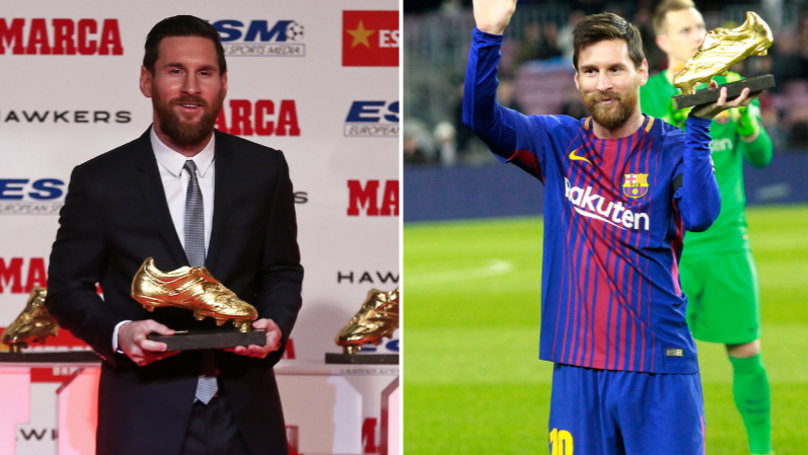 How The European Golden Shoe Race Looks Without Penalties