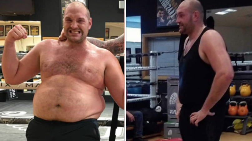 Tyson Fury's Body Transformation After Months Of Training Is Seriously Impressive
