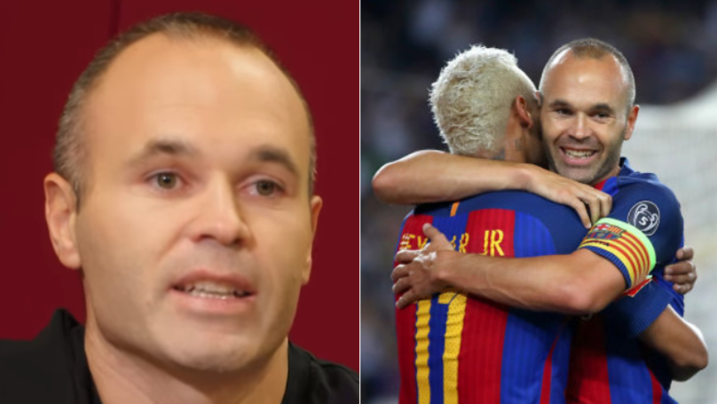 What Andres Iniesta Has Said About Neymar Potentially Joining Real Madrid