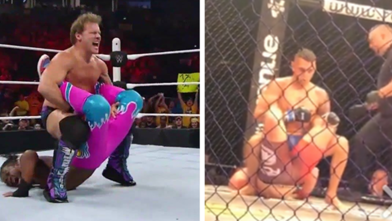 MMA Fighter Uses 'Walls Of Jericho' Submission To Defeat Opponent
