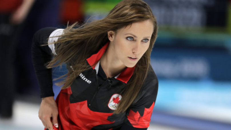 Olympic Curler's Husband Caught Double-Fisting Beers At Morning Match