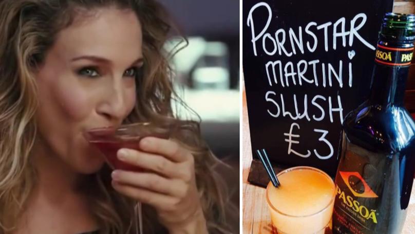 A Bar In Glasgow Has Created £3 Pornstar Martini Slushies
