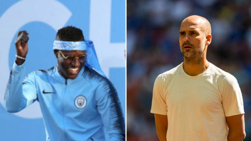 Benjamin Mendy Responds In Typical Fashion To Pep Guardiola's 'Criticism'