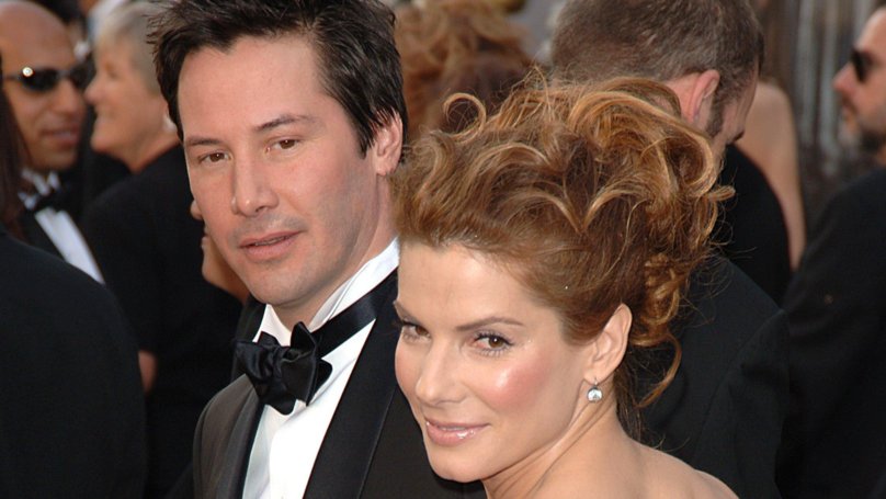 ​Keanu Reeves Admits He Had Crush On Sandra Bullock While Filming Speed