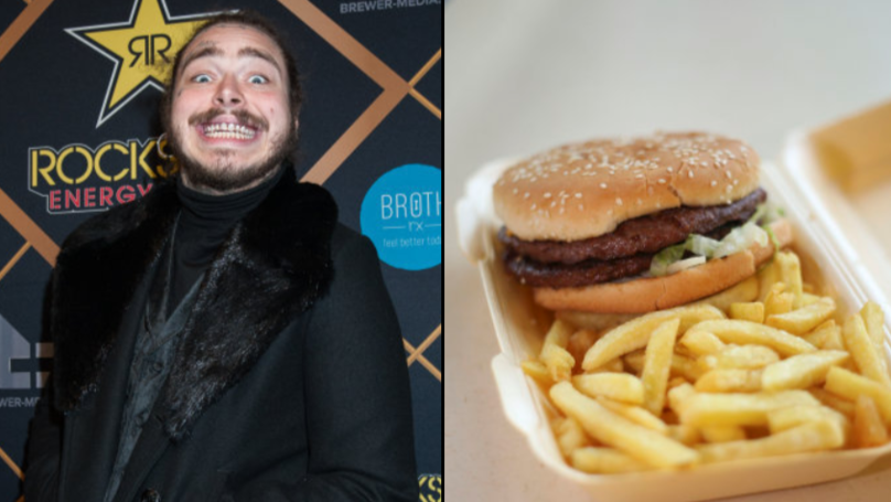 Post Malone Ordered $40,000 Worth Of Takeaway Food In One Year