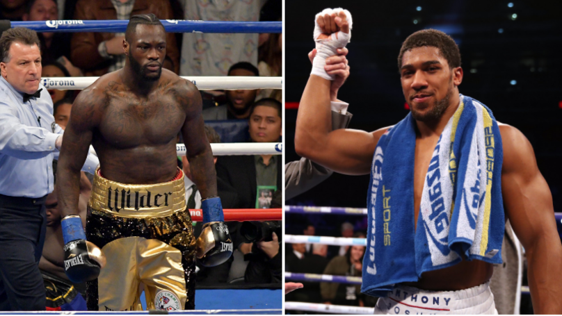 Deontay Wilder's Team Respond To Anthony Joshua's Poll For His Next Opponent