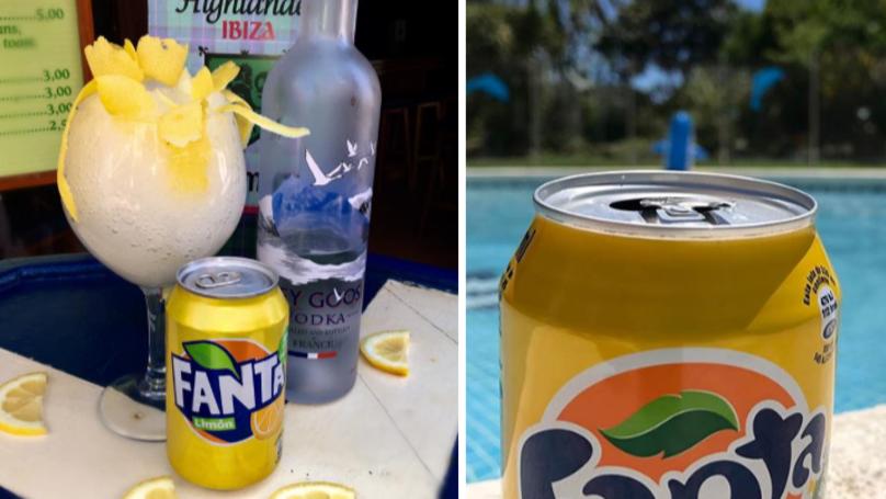 Alcoholic Fanta Lemon Slushies Are The Summer Cocktail Of Dreams