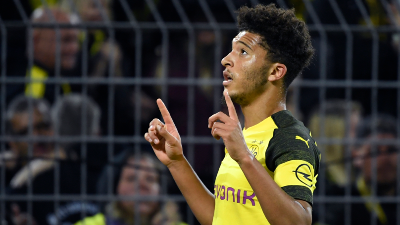 Jadon Sancho Celebrates England Call-Up With Another Brilliant Assist