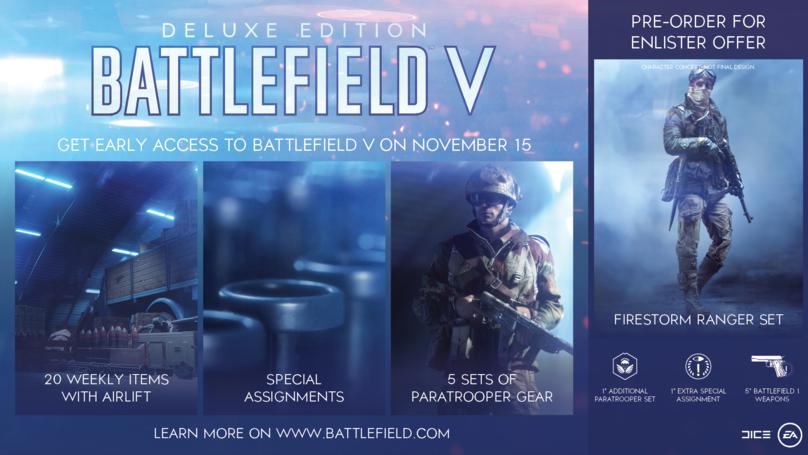 Firestorm: New Details, Pre-Order Bonus Revealed For Battlefield 5's Battle Royale