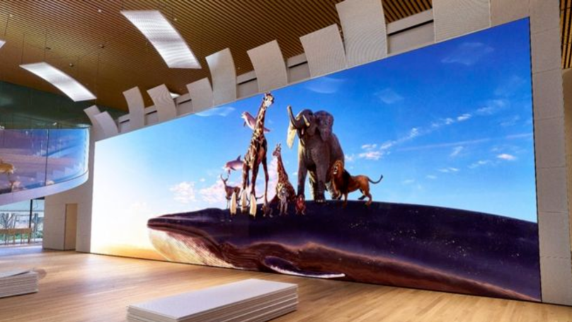 Sony Unveils Whopping 16K TV That's Bigger Than A Bus