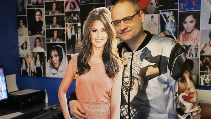 Cheryl Superfan Spends £7,000 Covering His Home With Her Face