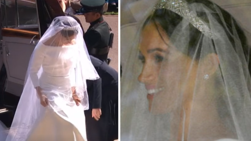 Meghan Markle Looks Radiant In Clare Waight Keller Wedding Dress And People Are Loving It