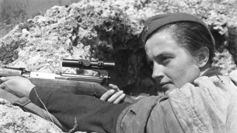 ​Introducing Lyudmila Pavlichenko – The Coolest Female Sniper You've Never Heard Of