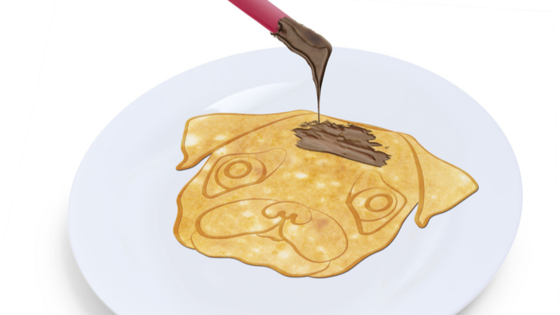 ASDA Is Selling A Pug Frying Pan For Pancake Day And It's Flippin' Cute